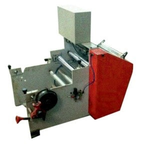 FOIL ROLL MAKING MACHINE